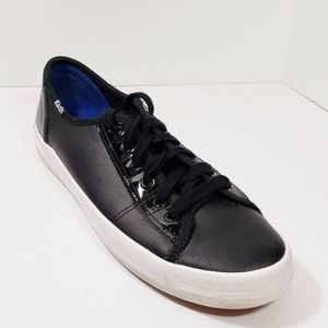 Keds 9 Womens Shoes Sneakers Black  Size 9    EXC